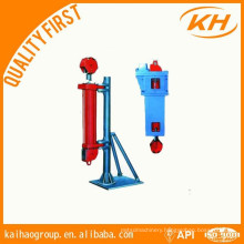 hydraulic cathead for oilfield equipment
