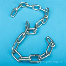 DIN766, DIN764, DIN5688A/Cgalvanized soudés chaînes à maillons en acier