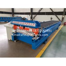Профилегибочная машина для производства алюминиевого рифленого листа