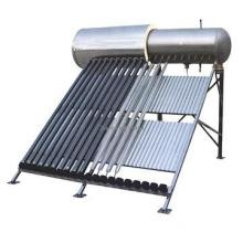heat pipe pressurized dual tanks green energy solar water heater
