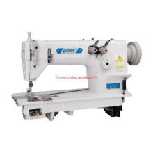 High speed double needle chainstitch sewing machine