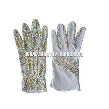 Floral Gardening Cotton Working Glove-2116