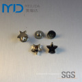 Star Shape Shoe Snap Rivets and Metal Ornaments for Fashion Apparels, Garments, Bags and Hats