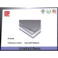 Feuille transparente de PC de résistance à hautes températures