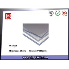 Hoja transparente de alta temperatura PC para PC