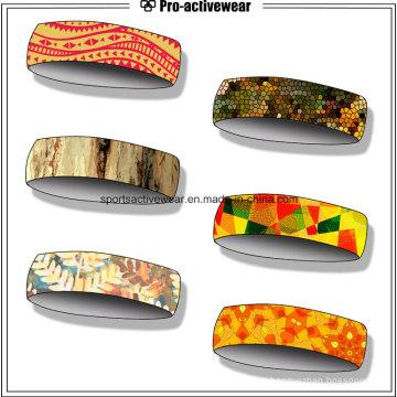 El más nuevo diseño de alta calidad de algodón Sport Headband especial