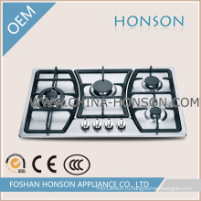 Четыре горелки, встроенный в газовой плитой одобренный CE
