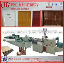 ПВХ порошок и порошок древесины WPC двери производственной линии / Дерево пластиковые композитные WPC дверные панели производственной линии
