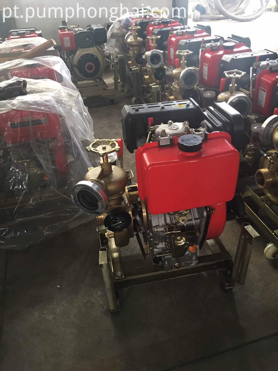 diesel engine fire pump