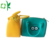 Ladies Silicone Beach Bag Multicolor Jelly Shopping Bag
