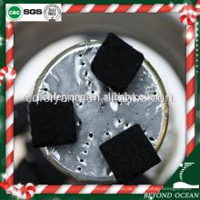 25mm kubische Asche lange Brennzeit Shisha Kohle für Nargile