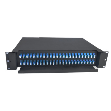 SC LC Fiber Patch Panel 48 Port