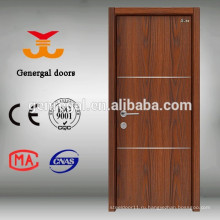 Конкурентный квартира заподлицо деревянной двери