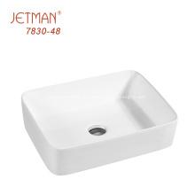 lavabo de baño de cerámica irrompible fregaderos lavabo