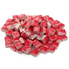 Mini peças de mosaico vermelhas para mural de mosaico