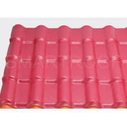 Anti Acid Plastic Corrugated Roof Panels 0.3 MM Thick For P