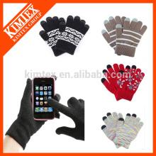 Custom Winter Magic Texting Touchscreen Handschuhe / Handschuhe