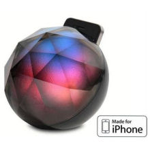 Smartphone Iphone Accessories Black Diamond Smart Led Base For Iphone