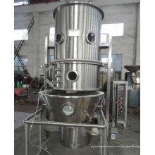 Secador de granulación del mezclador de ebullición 2017 de la serie FL, proceso de granulación de lecho fluido SS, equipo de liofilización vertical