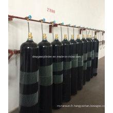 Cylindre de gaz d'extinction d'incendie à gaz azote 80L