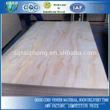 Contrachapado de pino 1800 * 900 * 12mm