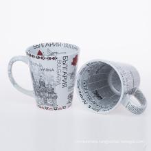 ceramic mugs with full printing decal