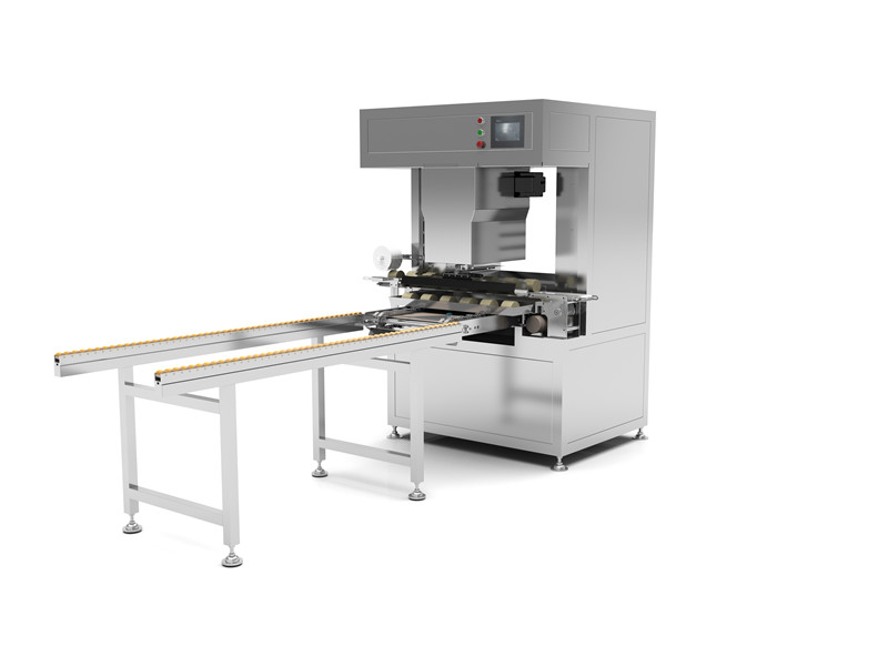 Square Bread Tray Arranging Machine