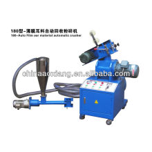 plastic graining machine/film graining machine/ film Edge Trimming recycling machine