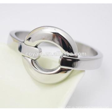Pulsera de pulsera de plata personalizada personalizada proveedor de joyería de acero inoxidable