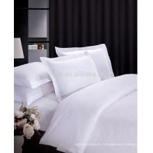 Hotel de lujo 100% algodón satinado juego de sábanas Jacquard Design
