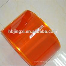 Feuille souple flexible de PVC flexible