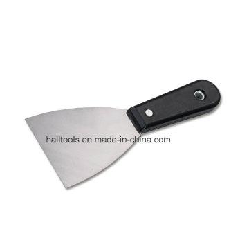Couteau à mastic avec poignée en plastique