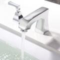 HIDEEP Full Copper Chrome Bathroom Bathtub Faucet