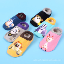 Children Kids Cotton Ankle Socks with Printing Pattern (KA201)