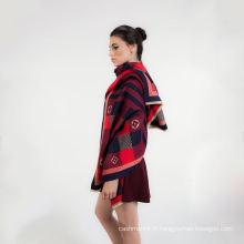 2017 Nouveau Haute Qualité Coton Doux Infini Tissé Écharpe