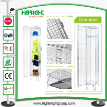 Zinc Compartment Wire Mesh Single Door Lockers