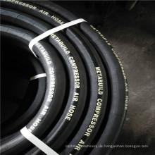 Eingewickelte Abdeckung Hochdruck Flexible Druckluft Gummi Schlauch 20bar