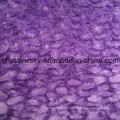 Tecido de lã tingida de poliéster PV sólido
