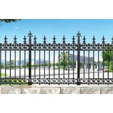 Cercas de hierro fundido moderno de la casa / cerca de fundición del hierro de la alta calidad