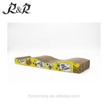 Conception amicale de meubles modernes éco 3 niveaux sisal carton chat grattoir CS-3010