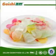 Chine multi couleur snack alimentaire mince tranche de craquelins de crevettes
