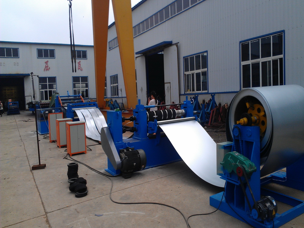 Metal uw track channel roll forming machine