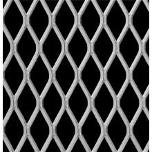 Алюминий расширил сетку металла, для использования украшения