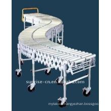 FZA-38-45x1 Flexible Double Roller Conveyor