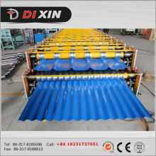 Doppelschicht-Dach-gewölbte Blatt-Rolle, die Maschine bildet