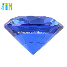 New Big 100mm Crystal Diamond Shape Paperweight Glass Gem Display Gift Hot