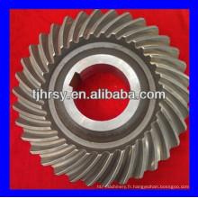 Fournisseur d'engrenages coniques en spirale