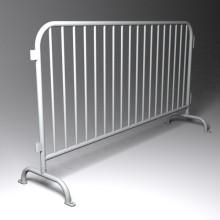 Stahlstruktur Heiß getaucht galvanisierte temporäre überfüllte Kontrolle Fußgänger Barriere