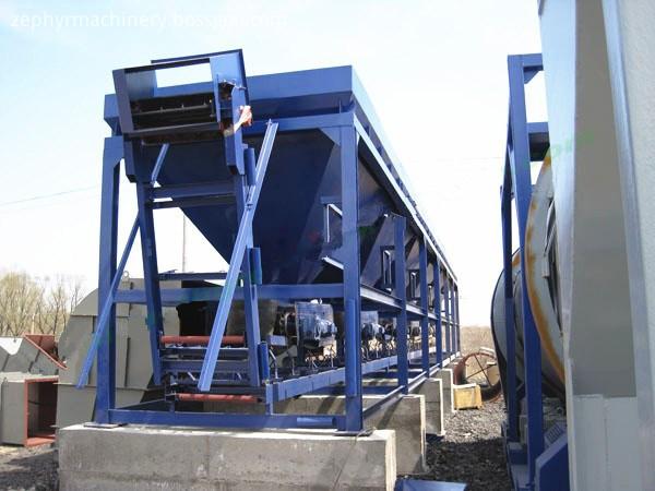 feeder asphalt plant