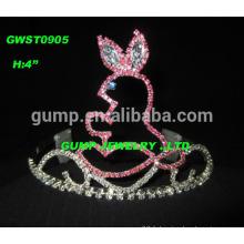Journée du jour de Pâques design beauté diamant tiara